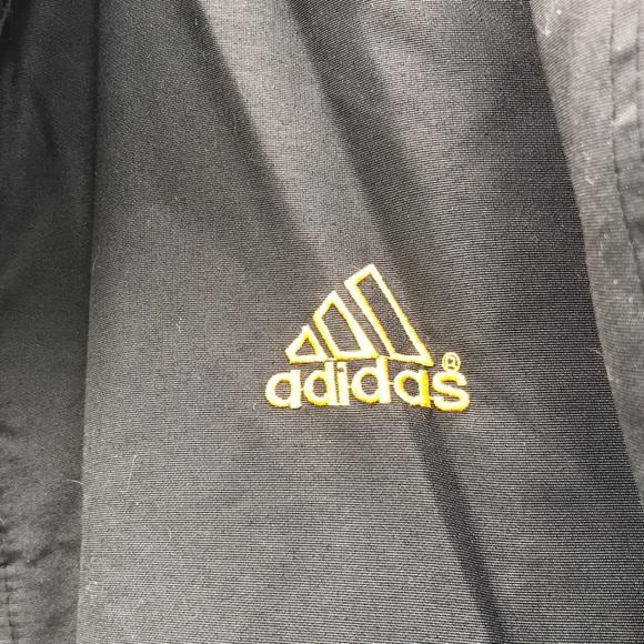 atraer Sistemáticamente protestante  Vintage adidas jacket 98-6 JASPOO black & yellow